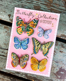 Butterfly Collection Patches