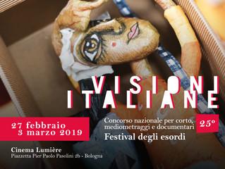 Visioni Italiane: ancora aperte le iscrizioni per l'edizione 2019