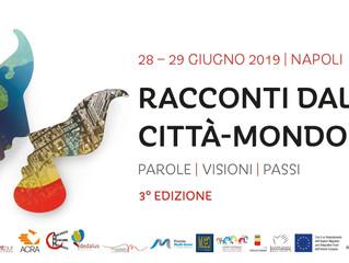 Il Premio Mutti - AMM a Napoli per Racconti dalla Città-Mondo il 28 giugno
