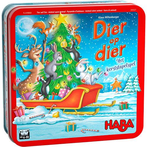 Dier op dier – Het kerststapelspel