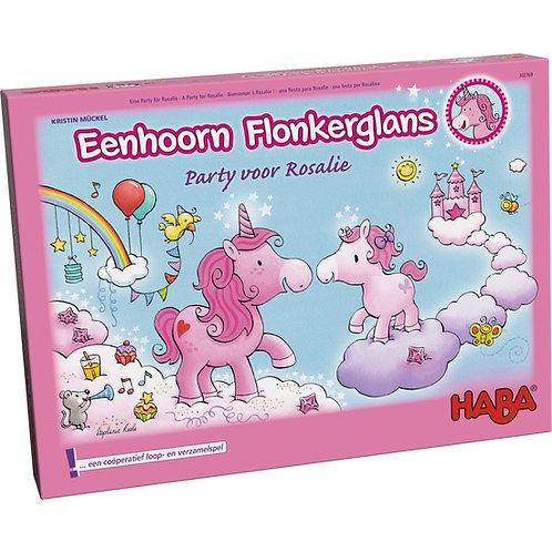 Eenhoorn Flonkerglans – Party voor Rosalie
