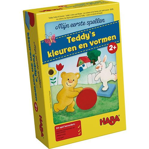 HABA - Mijn eerste spellen – Teddy's kleuren en vormen