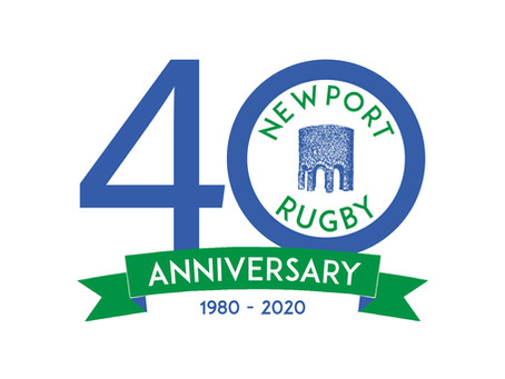 2020 - Celebrating 40 Years of Newport Rugby