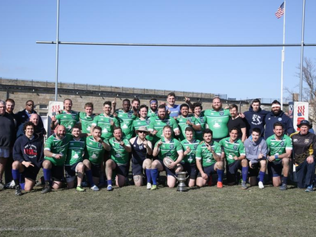 Saturday is a Rugby Day!! Newport retain the RI CUP