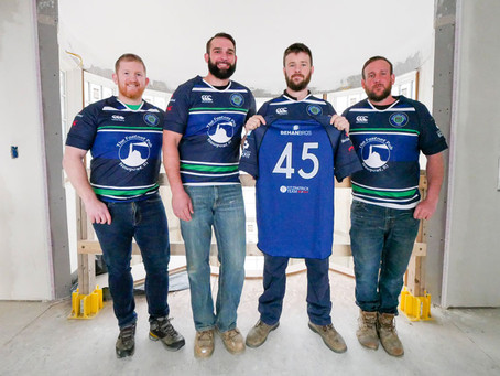 Newport Rugby teams up with Behan Bros Construction