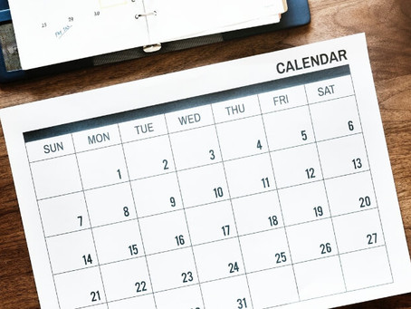 New Club Calendar Launched!!