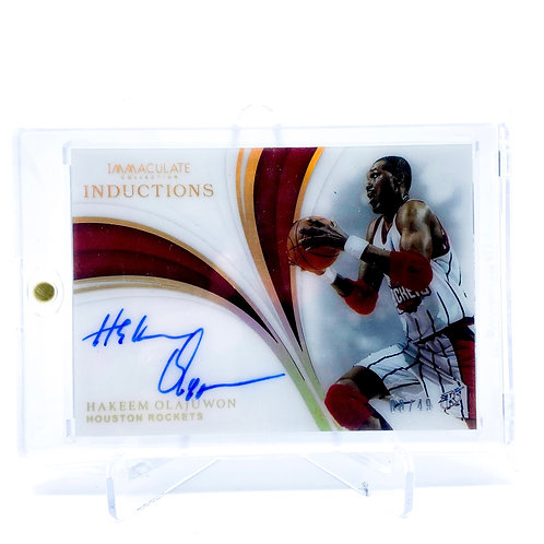 Hakeem Olajuwon Immaculate Collection Inductions /49