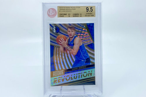 Luka Doncic 2018-19 Rookie Revolutions BGS 9.5