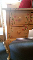 Hand painted dressing table by Vintage Lives