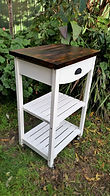 Re-finished kitchen/bathroom trolley by Vintage Lives