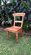 Re-finished chair by Vintage Lives