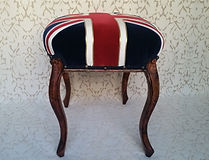 "Victorian military stool for sale.  Major ""Margot"" Melchet."