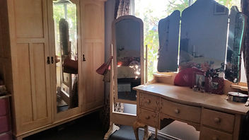 Hand painted bedroom suite by Vintage Lives