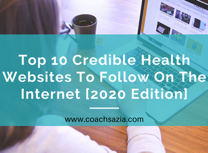Top 10 credible health websites to follow on the Internet [2020 EDITION]