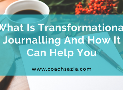 What is transformational journaling and how can it help you?