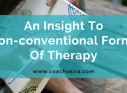 An insight into non-conventional forms of therapy