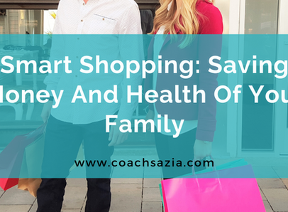 Smart shopping: Save your money and health