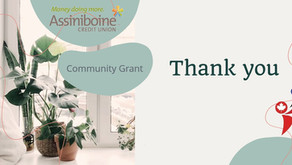 Community Grant from Assiniboine Credit Union
