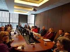 Meeting with Rotary Club of Winnipeg and Mayor Brian Bowman