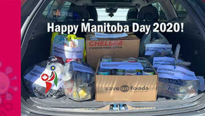 The third Donation to Winnipeg Harvest completed on Manitoba Day.
