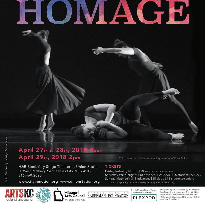 Homage: Professional Company Concert