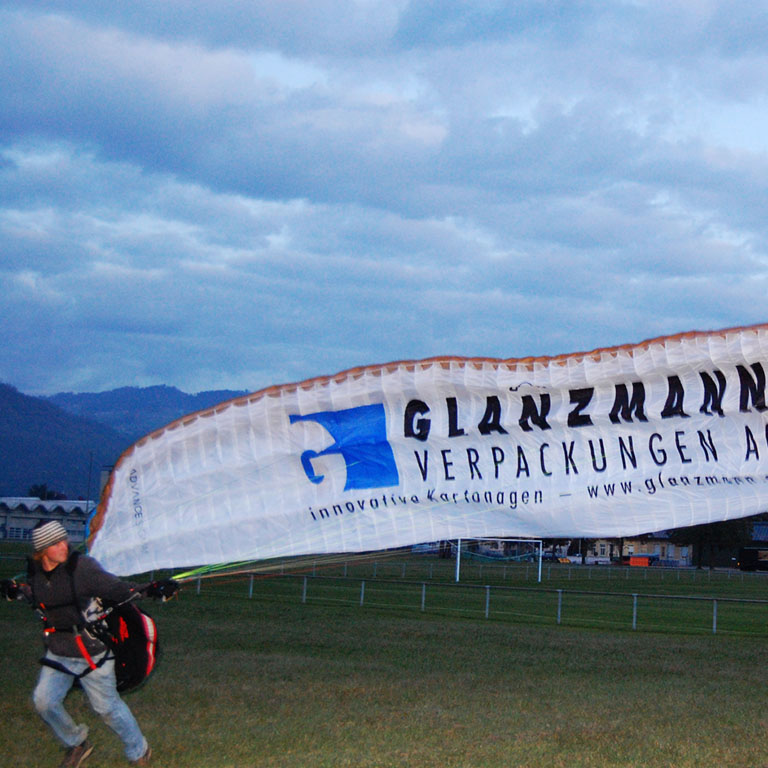 Paragliding Schweiz, Tandemflug