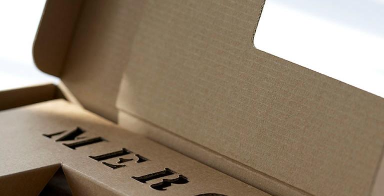 Mailingverpackung mit gestanzter Einlage