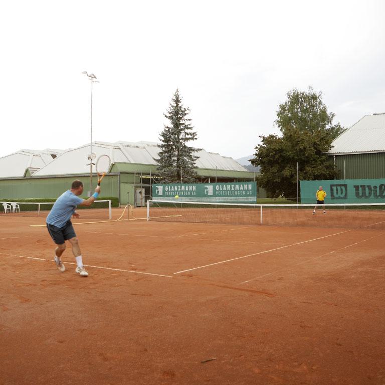 Tennis im Grünen
