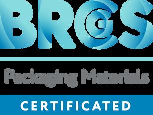 Zertifiziert nach BRC - Packaging Materials, dem Globalen Standard für Lebensmittelsicherheit