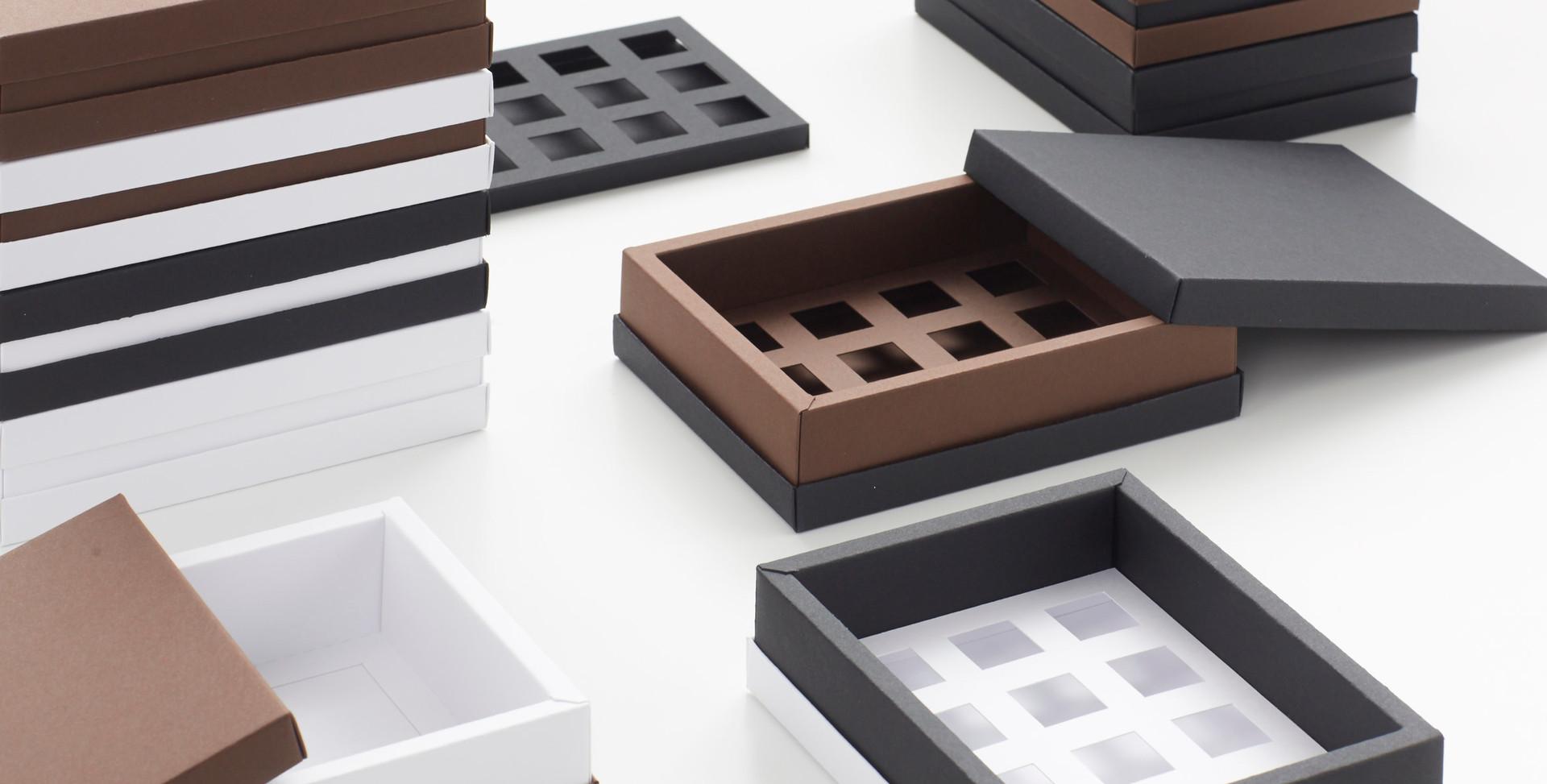 Tortenbox.ch Cioccolata Squadrata