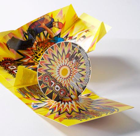 CD Hülle mit 3D Effekt