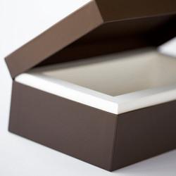 Überzogene Klappdeckelschachtel, Luxuxverpackung
