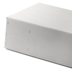 Simple Graukartonschachtel