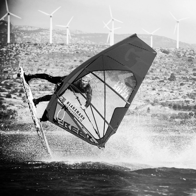 Windsurfen, Glanzmann Sponsoring