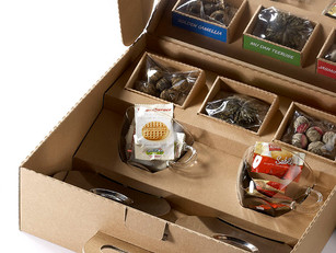 Weihnachtsgeschenk für Ihre Kunden verpacken?