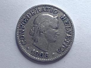 #80, #funfact: Geldstück aus dem Jahre 1908