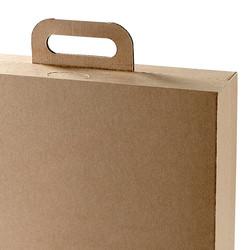 Koffer vollständig aus Wellkarton