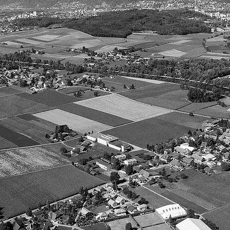Glanzmann Standort Scheuren, Vogelperspe