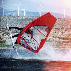 Balz Müller, Windsurf Freestyle, Switzerland, BielBienne, Glanzmann Sponsoring,