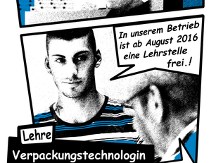 Freie Lehrstelle als Verpackungstechnologin/Verpackungstechnologe