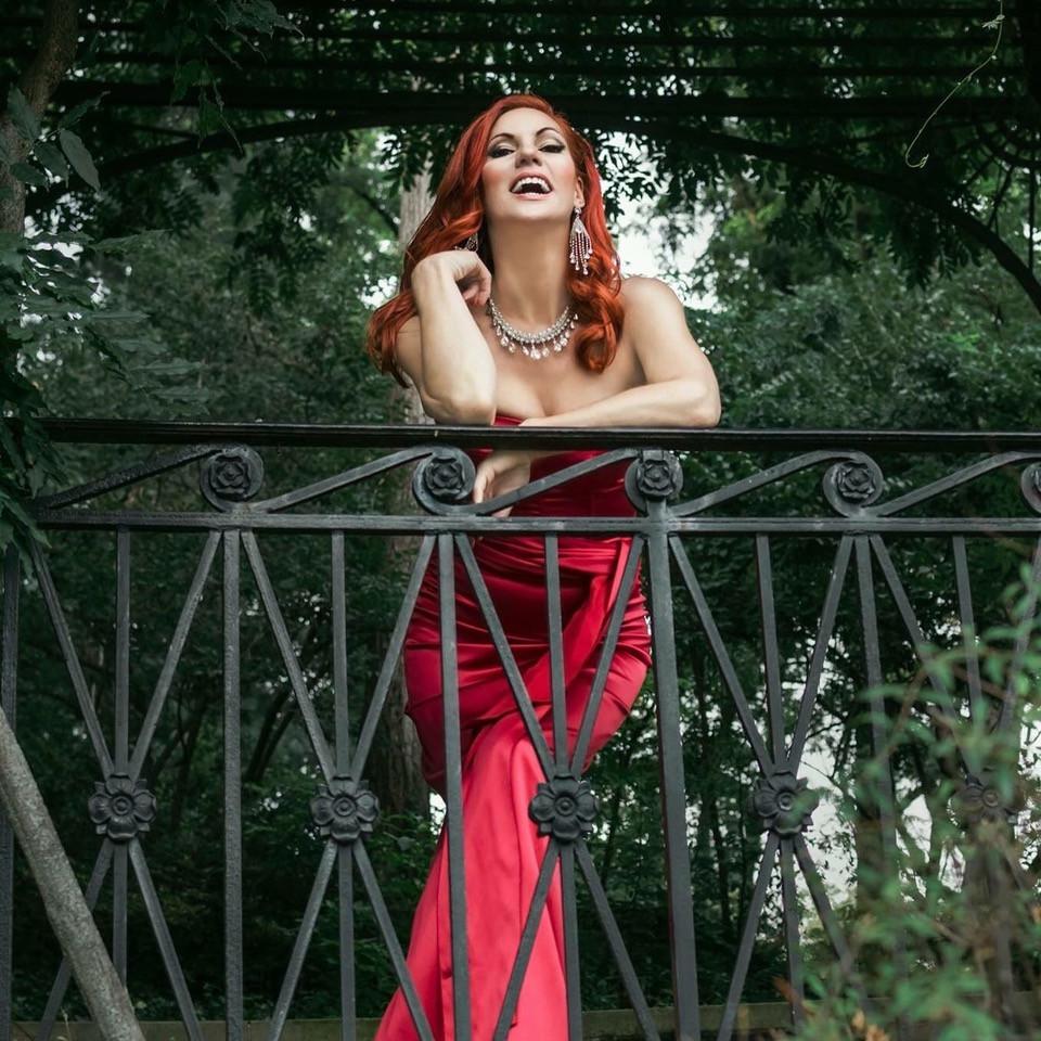 Quinn Lemley as Rita Hayworth