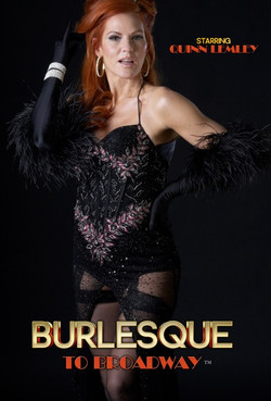 Burlesque to Broadway show Poster