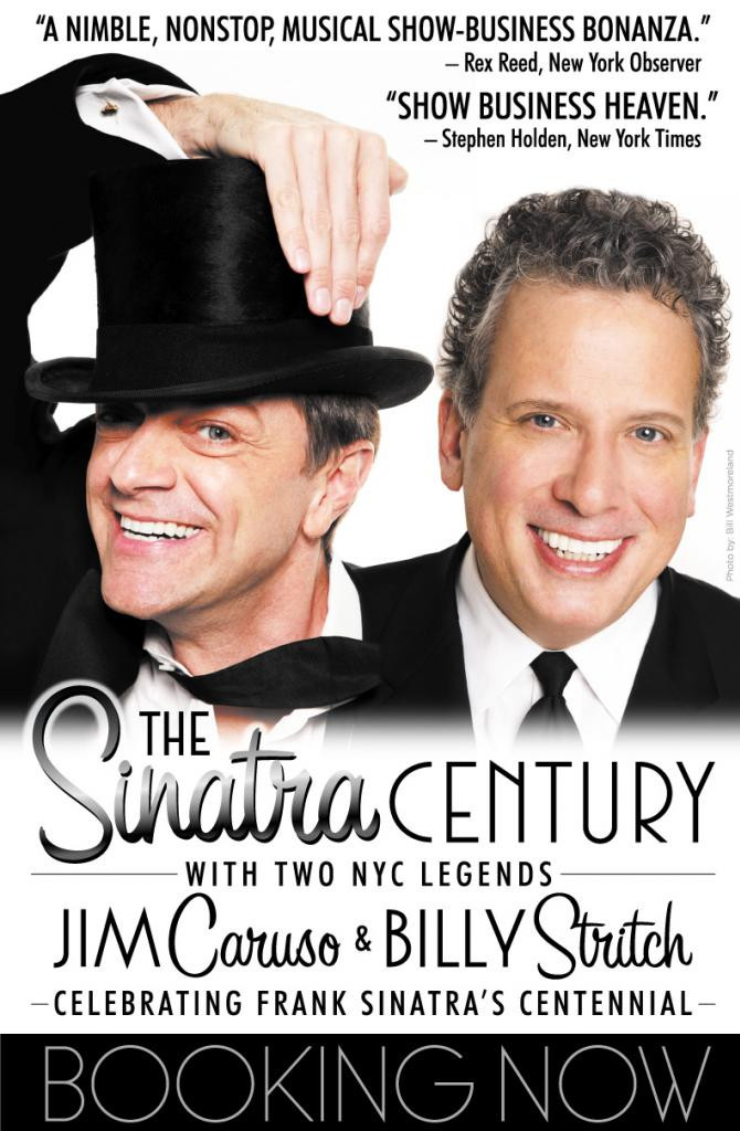 THE SINATRA CENTURY starring Billy Stritch & jim Caruso