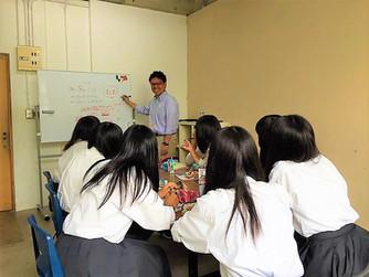 高校生向け キャリア講座 (岐阜県立可児高校)