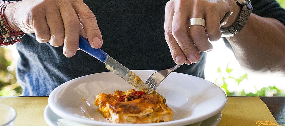 la cucina a Vallebona, pasti sani e appetitosi