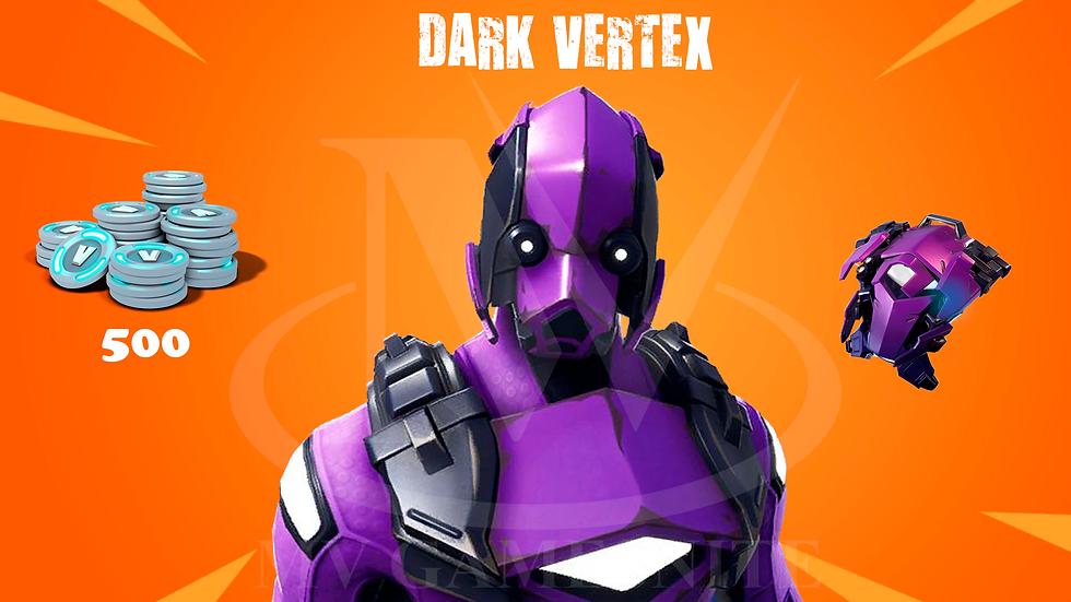 Pacote Dark Vertex + 500 V-Bucks
