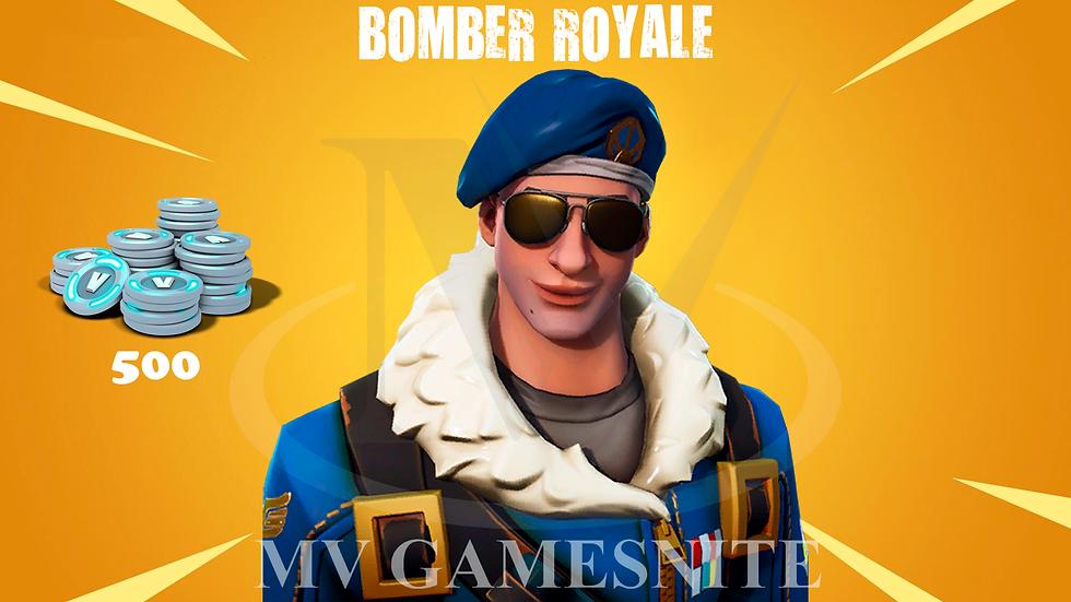 Bomber Royale Skin + 500 V-Bucks