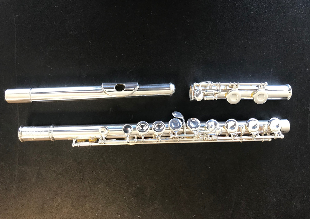 Haynes flute after overhaul