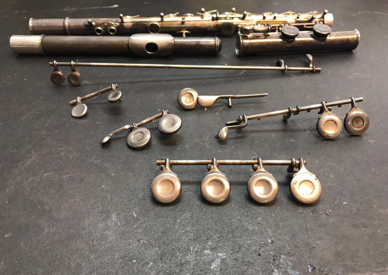 Haynes flute before overhaul