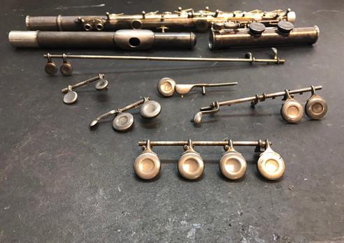 Haynes flute before overhaul
